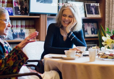 A Sit Down With Ruth Bader Ginsburg and Gloria Steinem