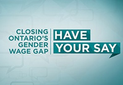 Closing the Gender Wage Gap in Ontario