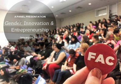 Special Gender, Innovation & Entrepreneurship Podcast Feature